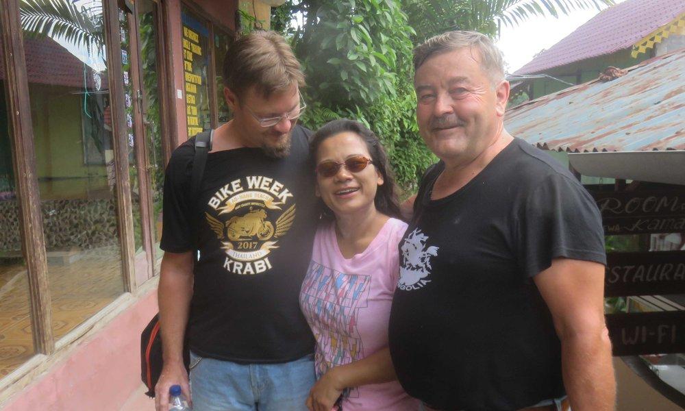 Jani ja Jussi löysivät Turkulaisen kylän raitilta!