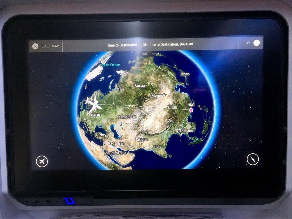 8500 kilometrin hyppy Hong Kongiin...