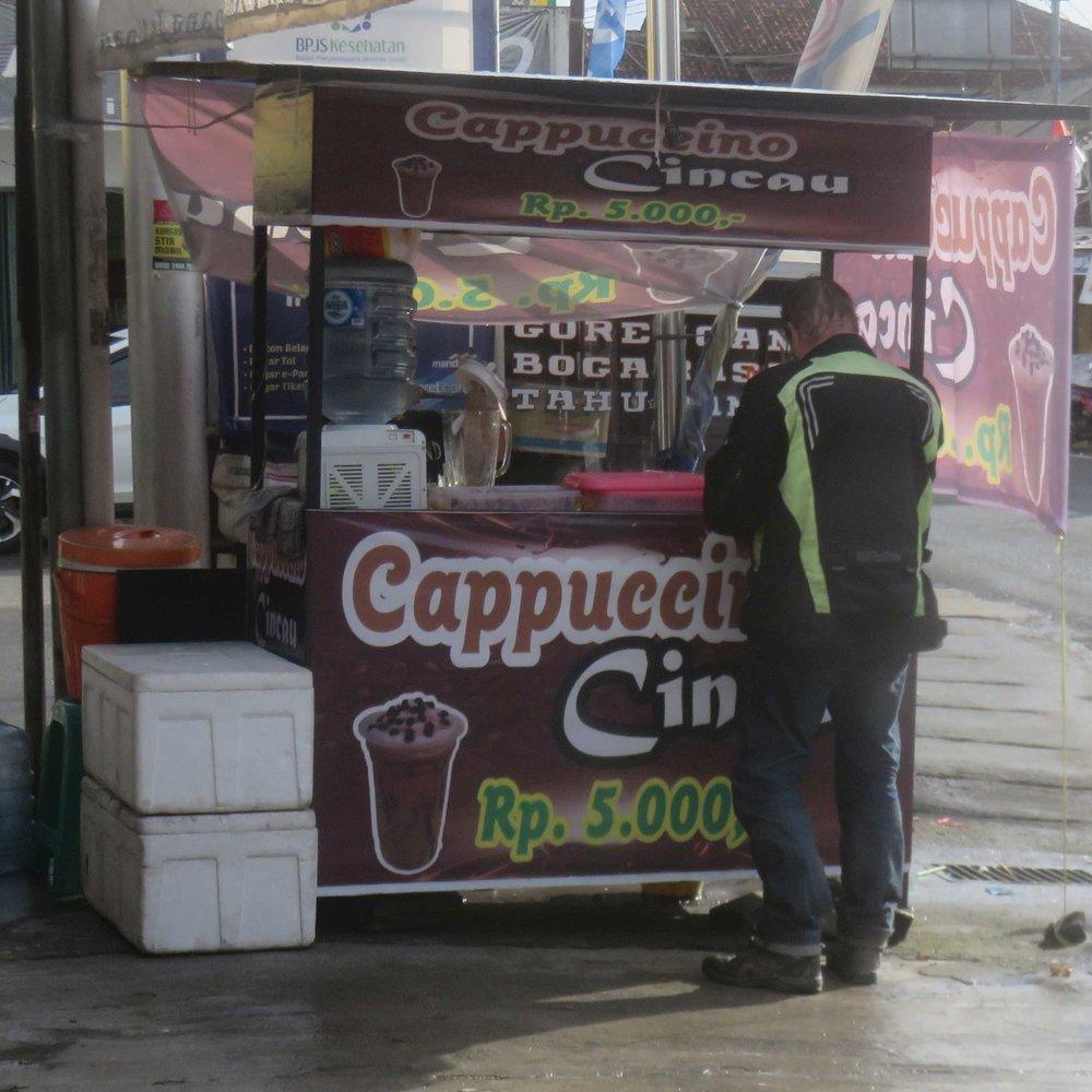 Kahvikauppa!