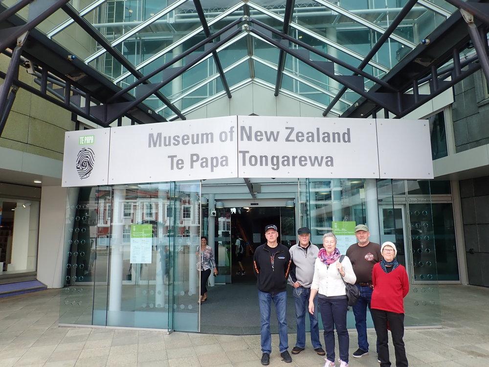 Te Papa museo on ehdottomasti käymisen arvoinen paikka.