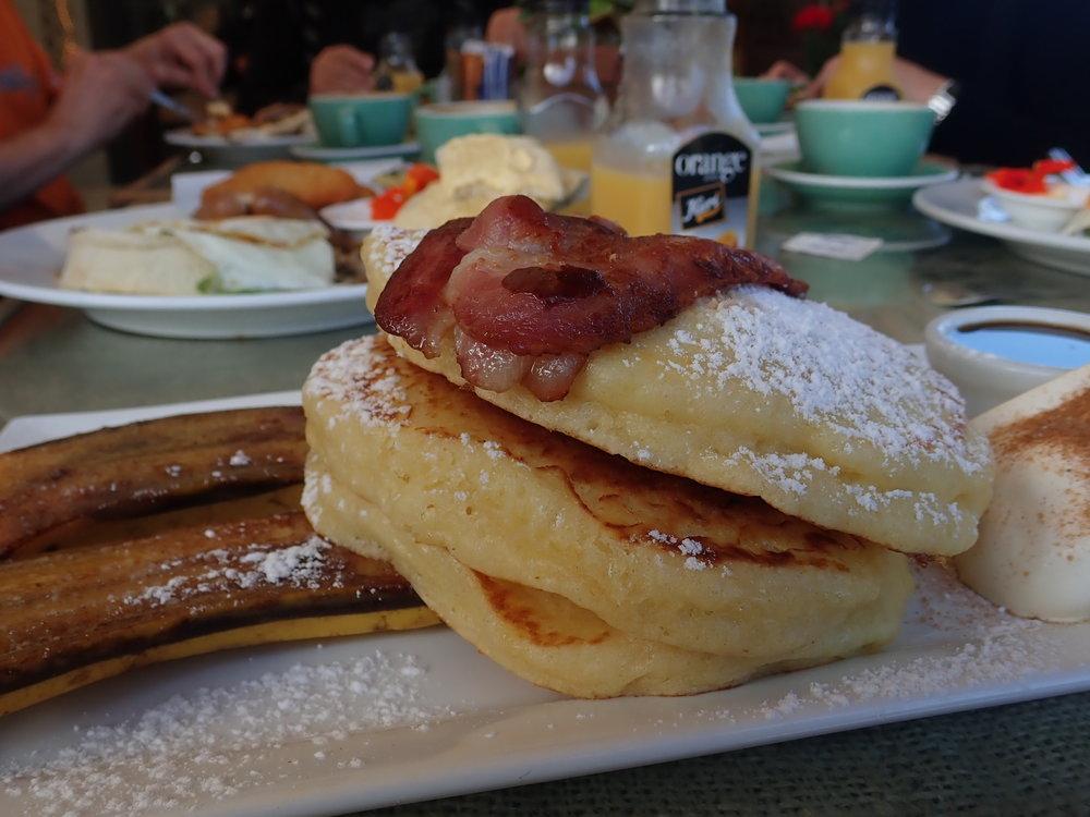 ... Ja pannukakku aamiainen :)