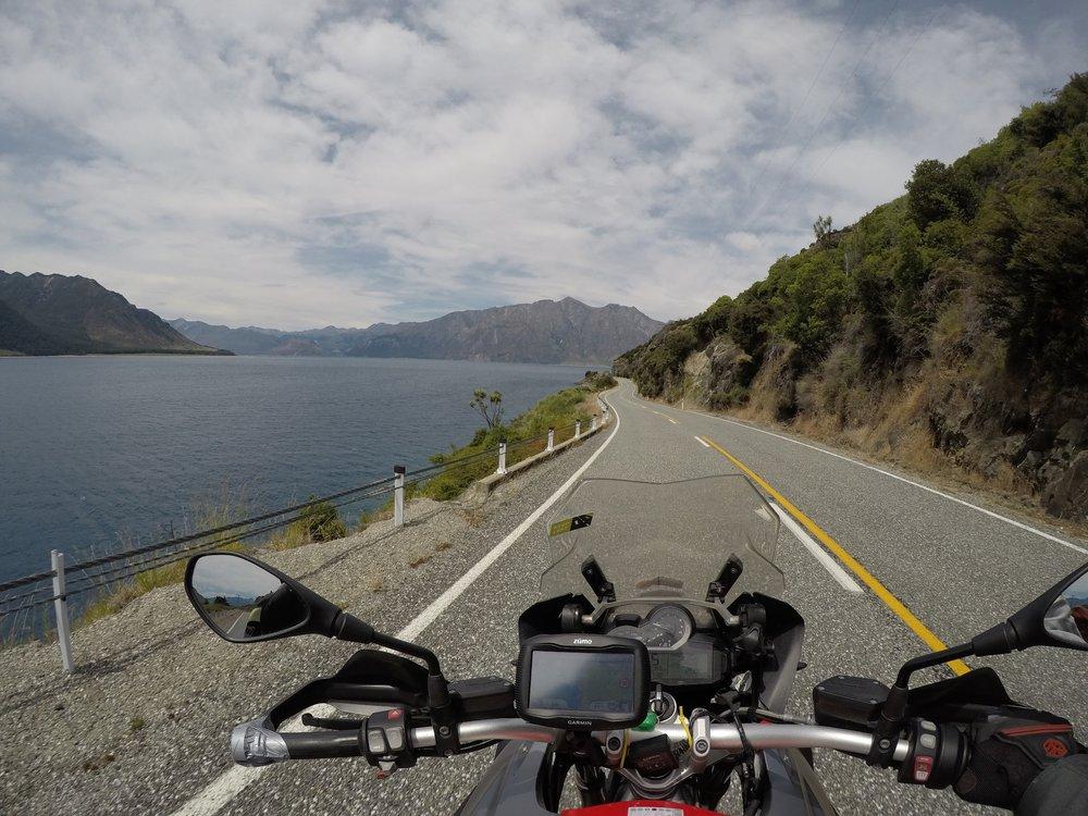 Lake Wanakan rantamaisemat...