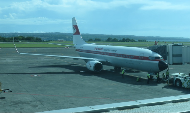 Garudan 60-luvun maalauksissa oleva 737!