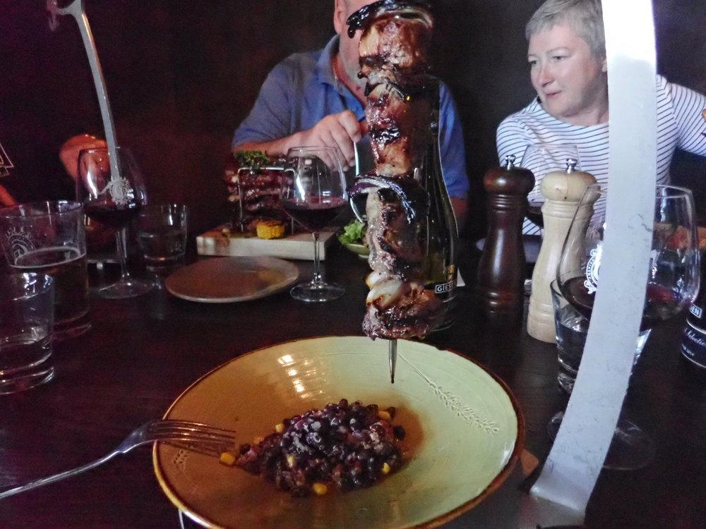 Maittava illallinen Christchurchin Shashlikkiravintolassa!