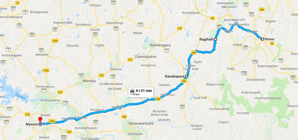 Kilometreissä aikasäädyllinen päivä jälleen kerran, mutta kun ottaa huomioon sen, että Intiassa keskivauhti harvemmin kohoaa yli 40 km tunnissa, niin lähtö on aikainen... Mahtuu enemmän oikoreittejä ja seikkailua valoisaan aikaan :)