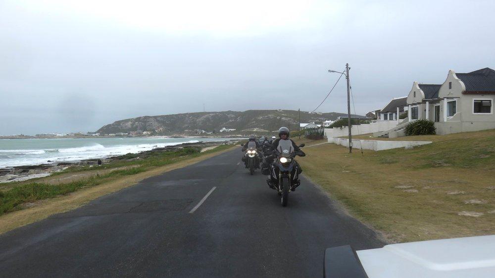 ... Cape Agulhas olisi oiva paikka pilvisenäkin aamuna!