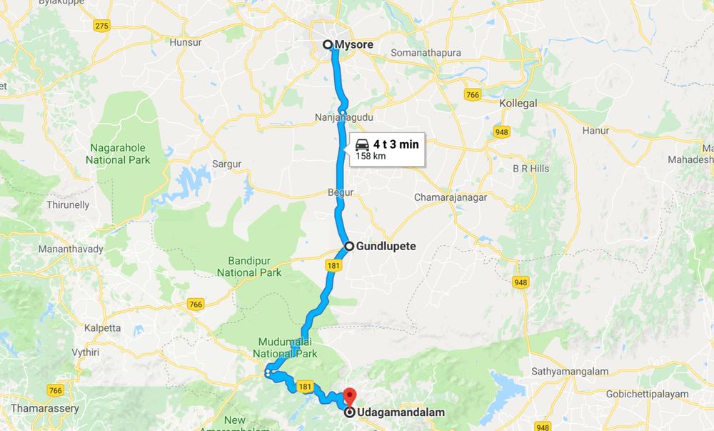 Tänään lähdetään merentasosta vähän ylöspäin - päivän päättäri noin 2500 metrissä sijaitseva Ooty (paikallinen nimi Udagamandalam)!