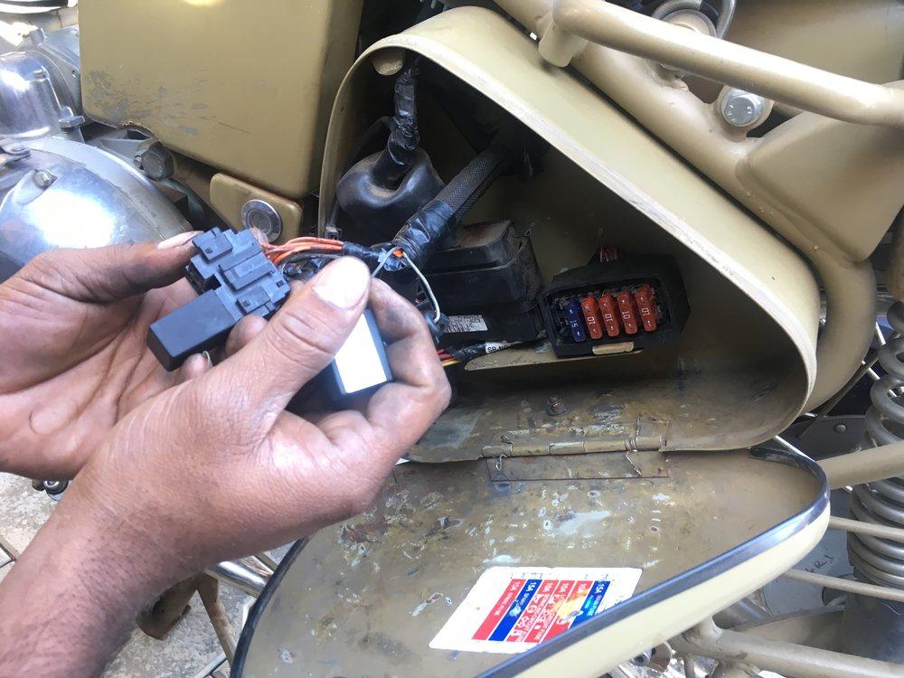 Mutta mekaanikomme Franklin hoitaa! :)