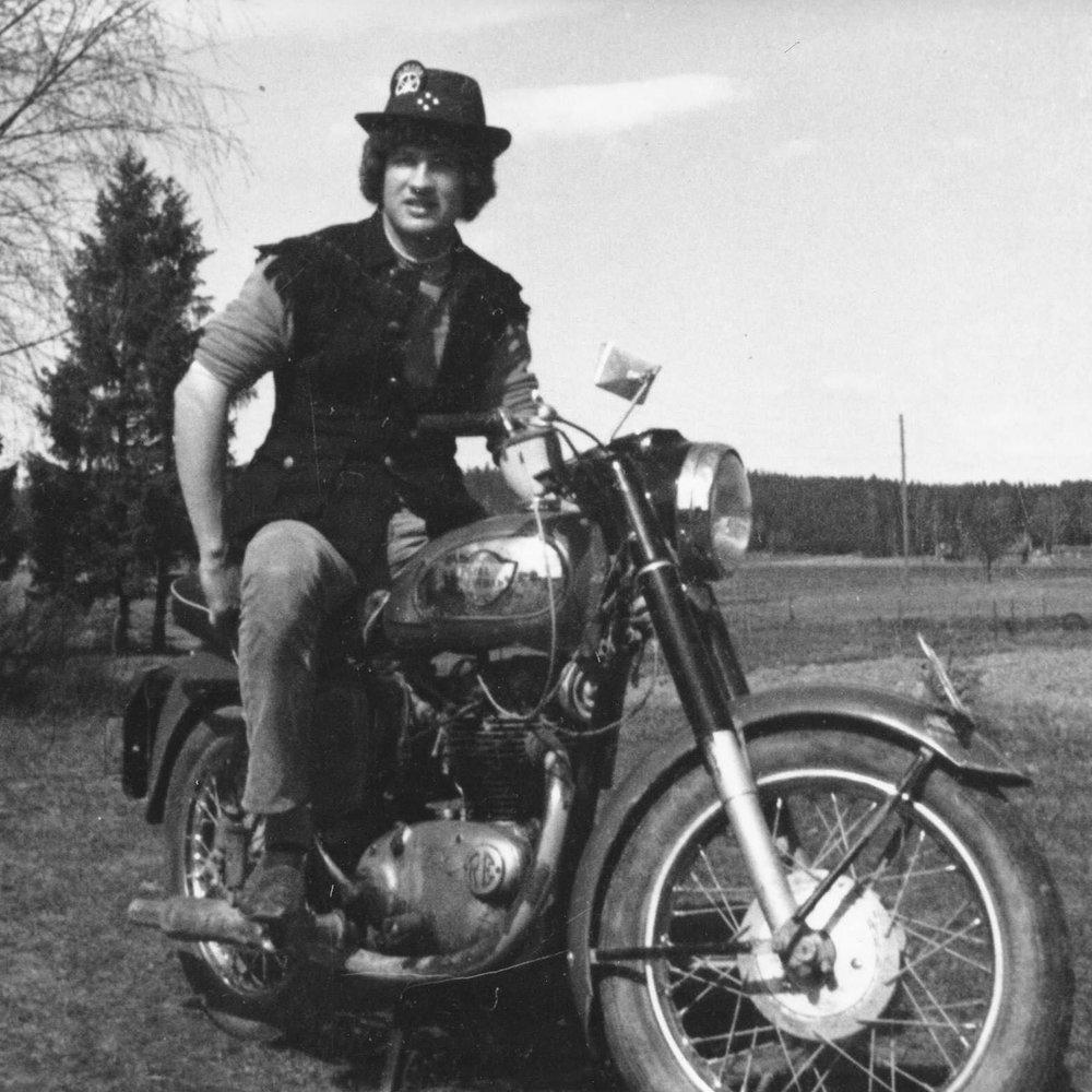 Ari Mylylä vuonna 1970!