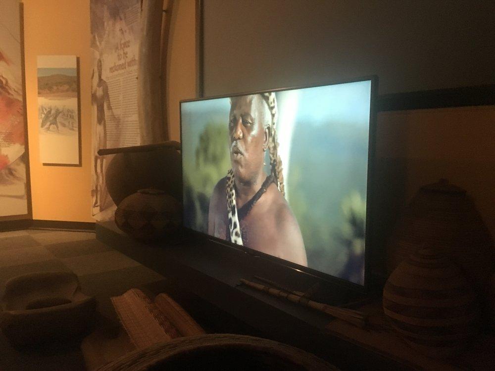 Shaka museon videoesitys.