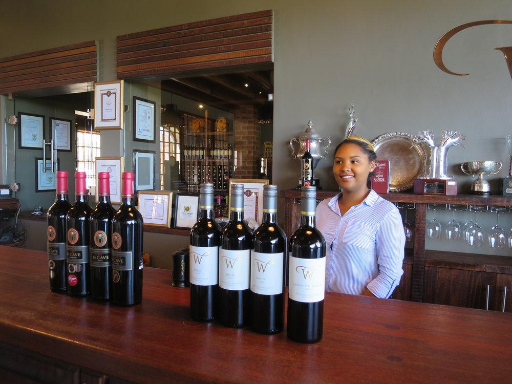 ...johon kuului myös lyhyt vierailu viinitilalla.
