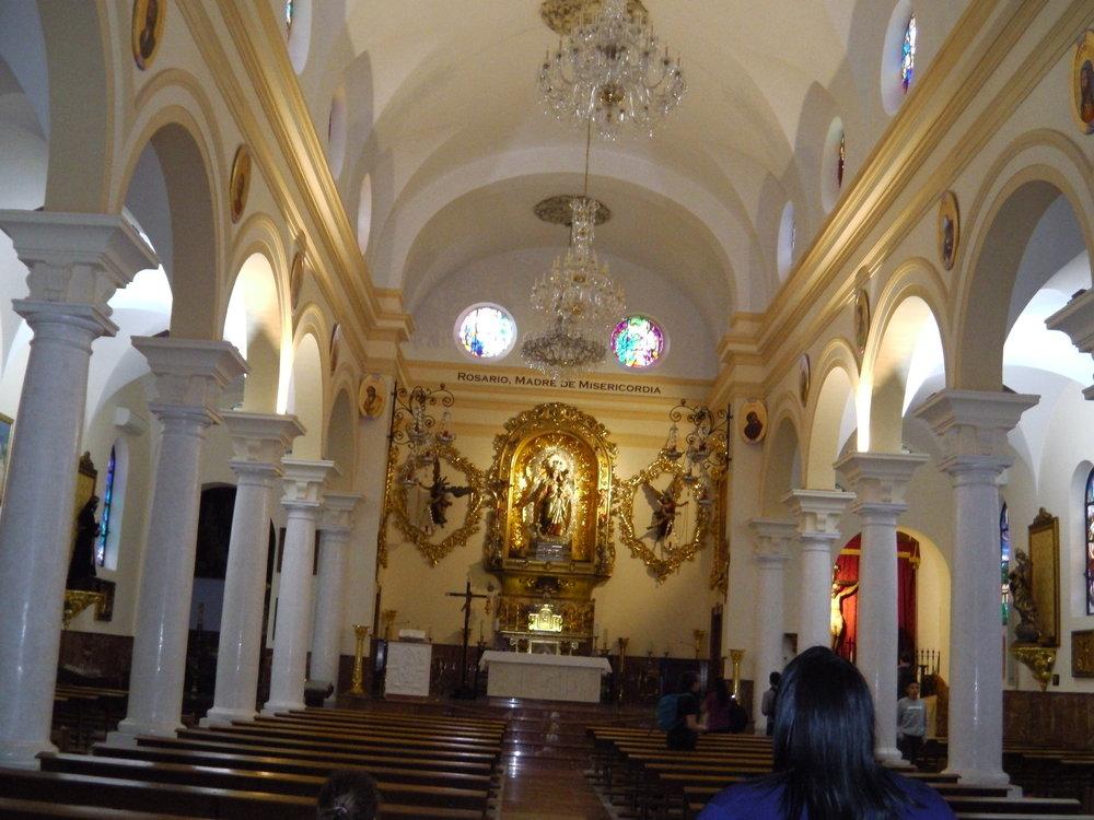 Espanjan kirkot ovat aina vaikuttavia.