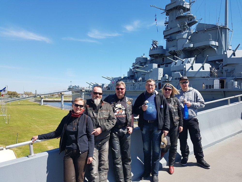 USS Alabama ja sen uusi miehistö?