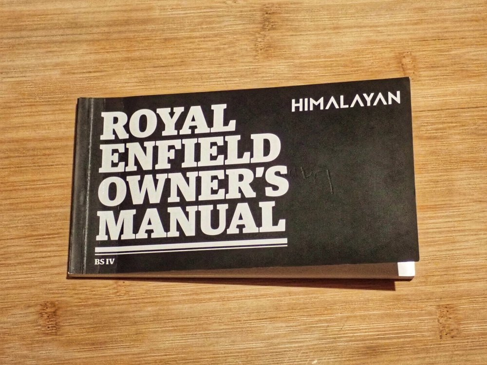 Royal Enfield Himalayan   - tällä matkaan :)