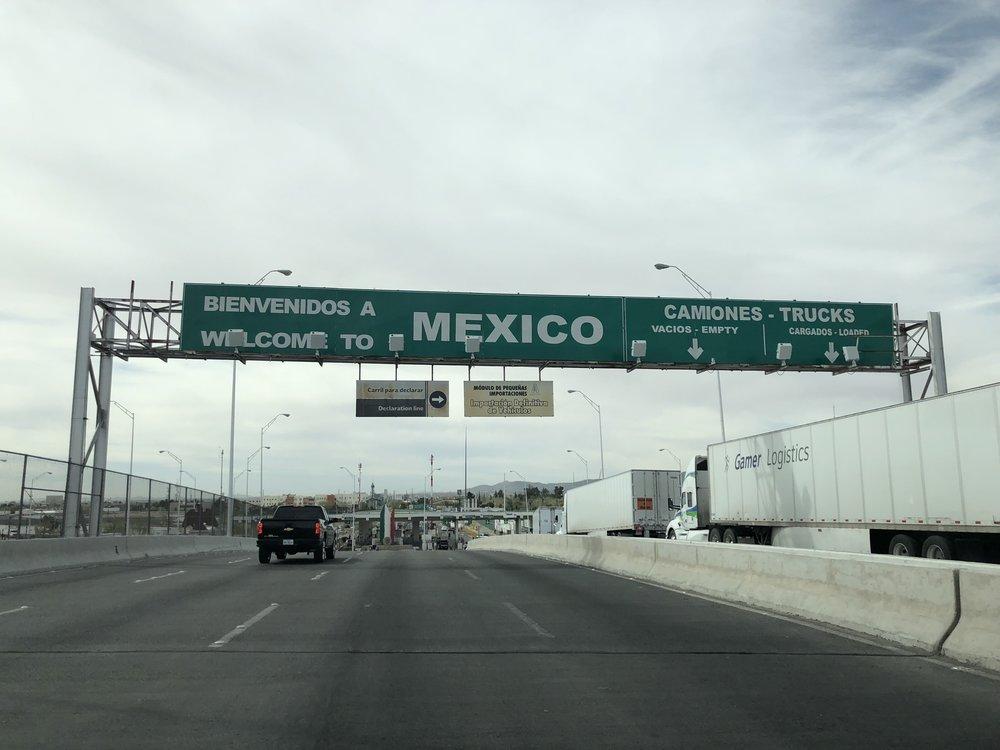 Bienvenidos a Mexico!