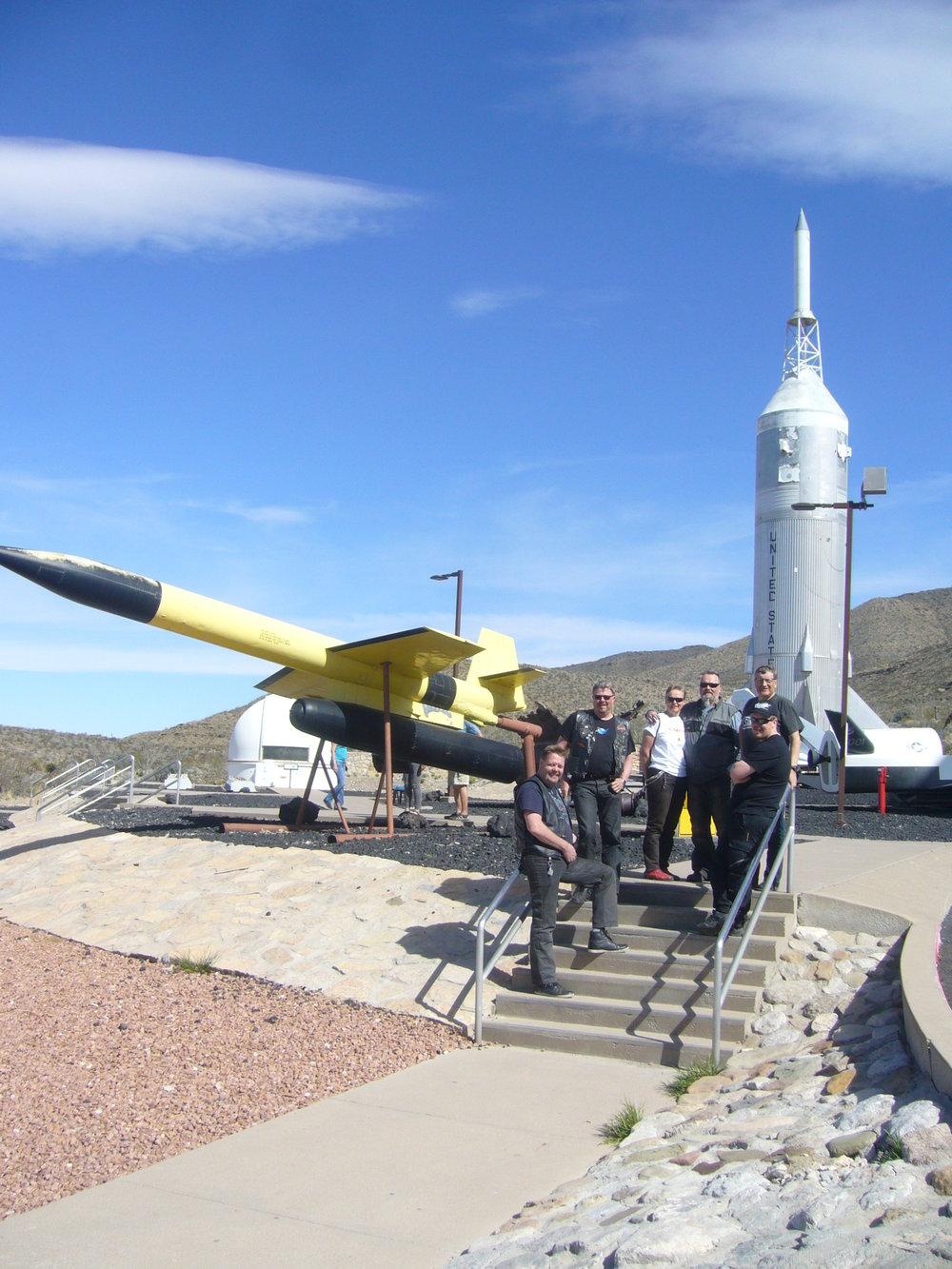 Alamogordo ja pala avaruusmatkailun historiaa New Mexicossa.