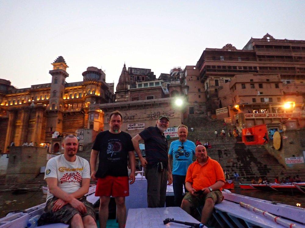 Gangesjoen risteilly kruunasi tämän päivän...