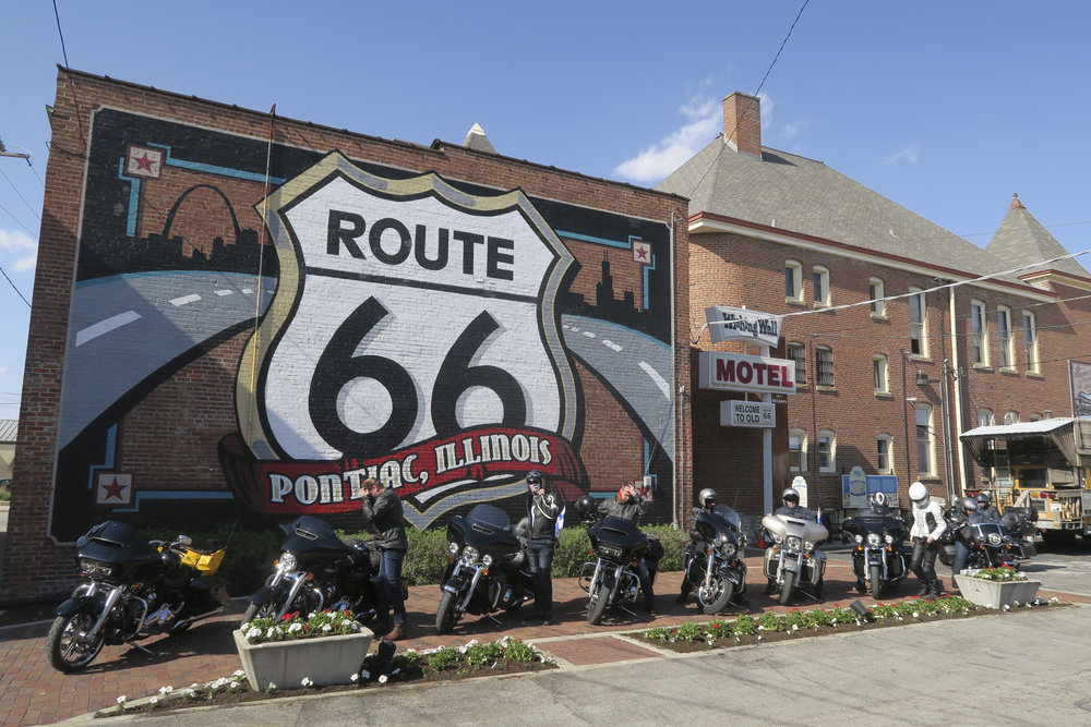 Route66 museosta tunnettu Pontiac