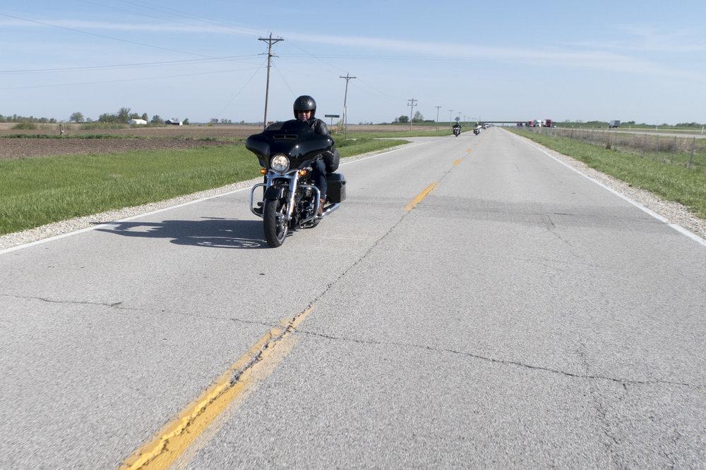 Illinoisin Route on suoraa ja tasaista.