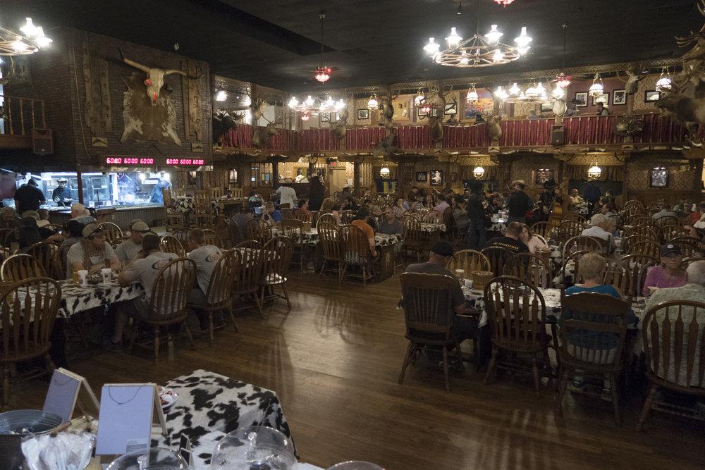 Big Texan ravintola.