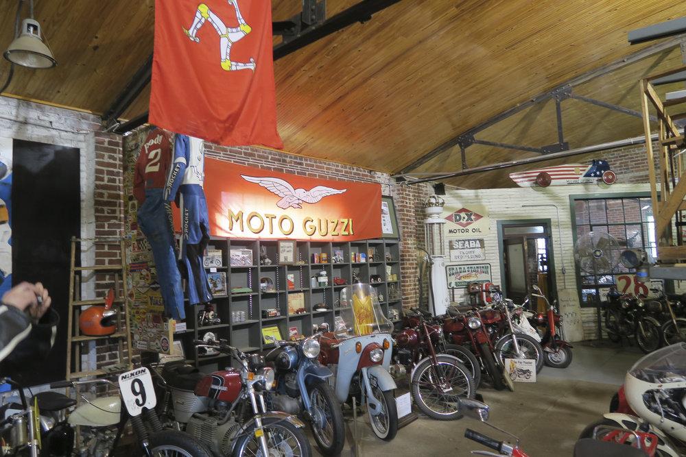 Myös Moto Guzzi oli edustettuna