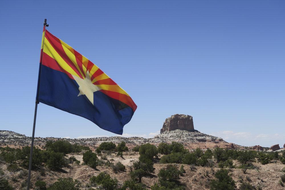 Arizionan lippu