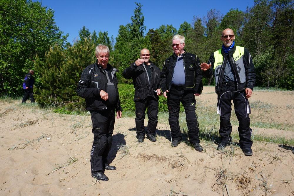 Rantaleijonat Teukka, Timo, Kalervo ja Tapani