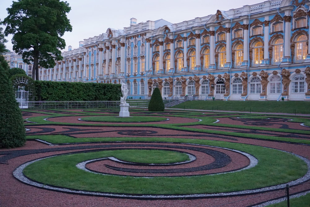 Katariinan palatsi, Pushkin.