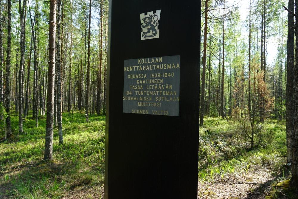 Suuri kunnioitus ja iso kiitos isänmaan taistelleille Suomen sotilaille