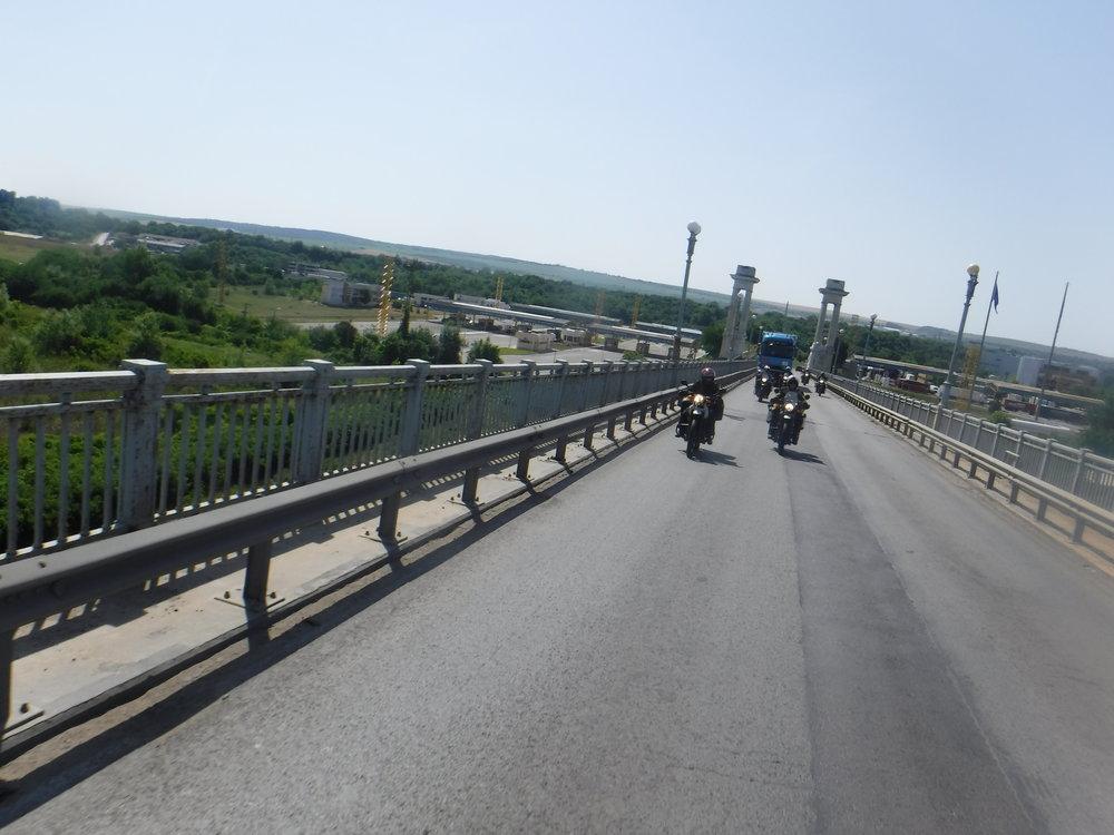 Bulgarian ja Romanian välinen siltä.