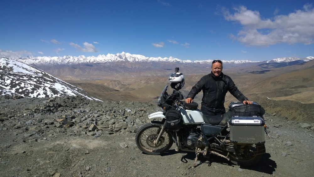 Matti, Royal Enfield ja Himalajat
