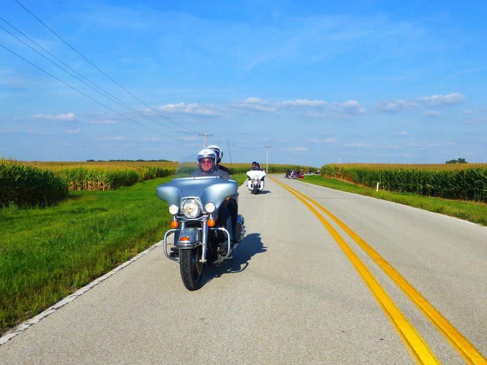 """Illinois on tunnettu myös Amerikan """"maissivyöhykkeenä"""" - tasaista peltomaisemaa riittää"""
