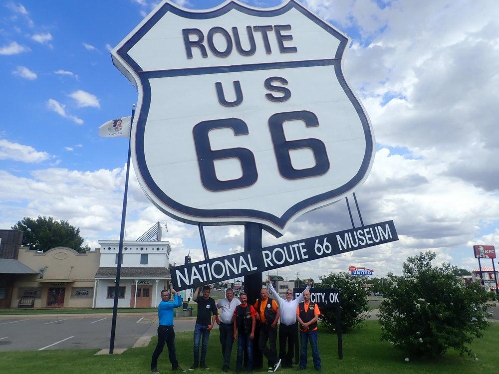 Elk Cityssa, Oklahomassa sijaitsee kiistämättä maan paras Route 66 museo!