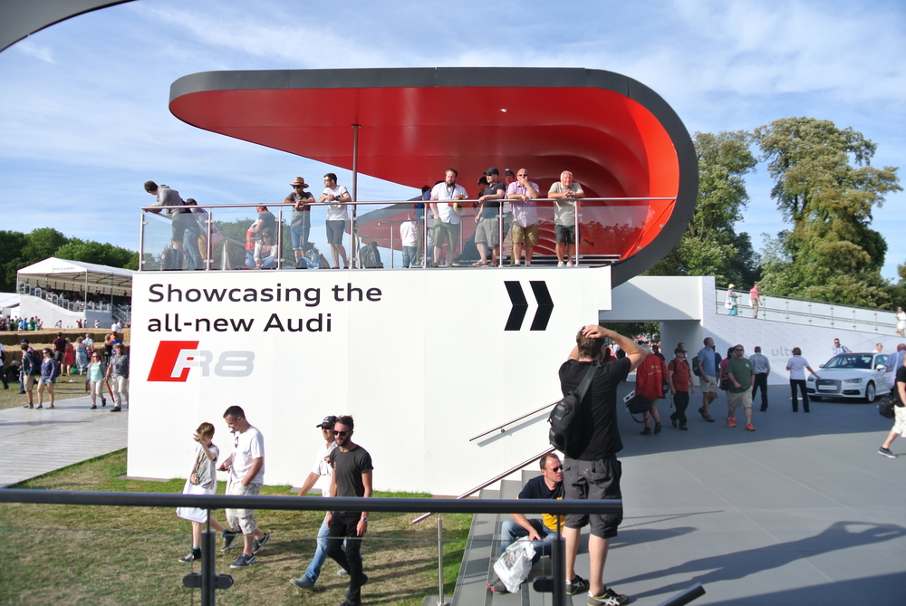 STRETCH CEILINGS AT AUDI FESTIVAL OF SPEED 2015