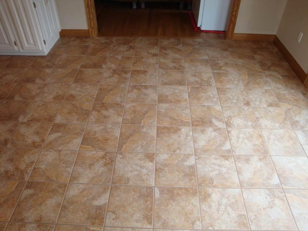 Kinds of floor tiles