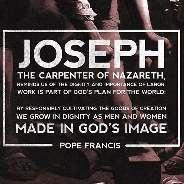 Happy Feast of St Joseph the Worker!! #ycwfeast #workers #josephtheworker
