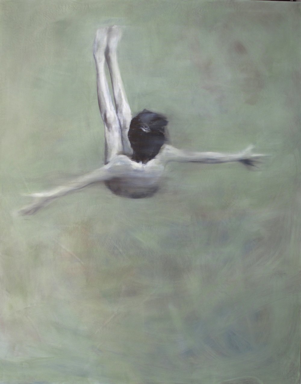 oil on canvas  204 x 107 cm  2012