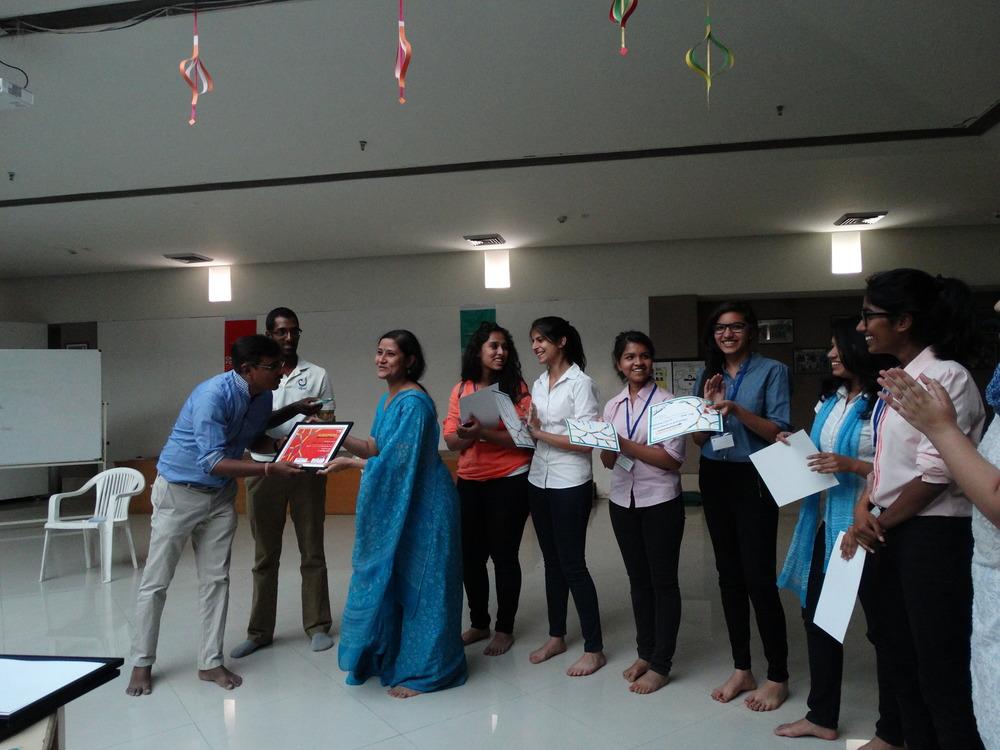 mother's international school team- winners of khel khel mein challenge