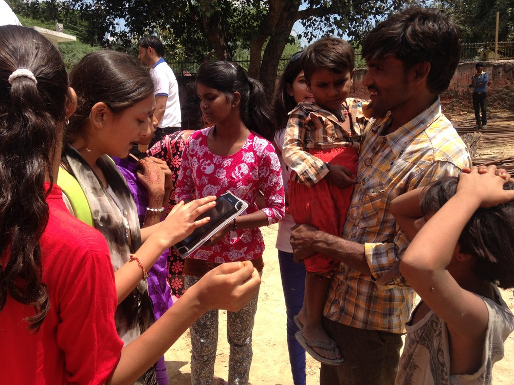 Alohamora students venture out into their local community armed with tabs and the internet