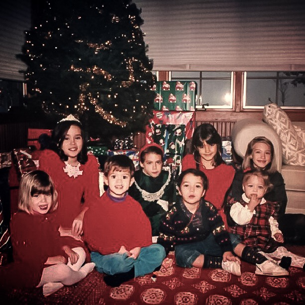 Here's a really fun throwback: Christmas circa 1994