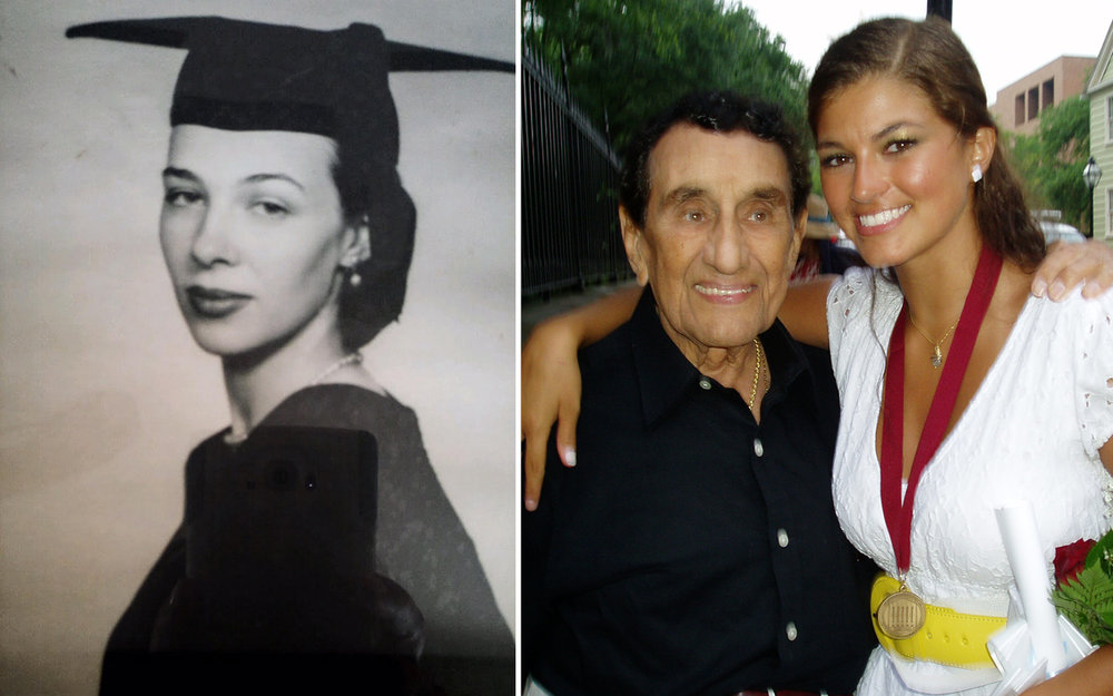 Marta Sara Lopez de Farias graduating from Harvard. I was lucky enough to have Pop-Pop with me here in Charleston when I graduated from CofC. Both are incredible examples of bravery and represent the best parts of America, they also happen to be immigrants.