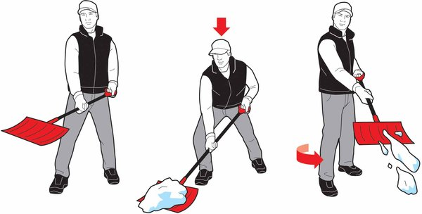 %name Winter Tips: Proper Snow Shoveling