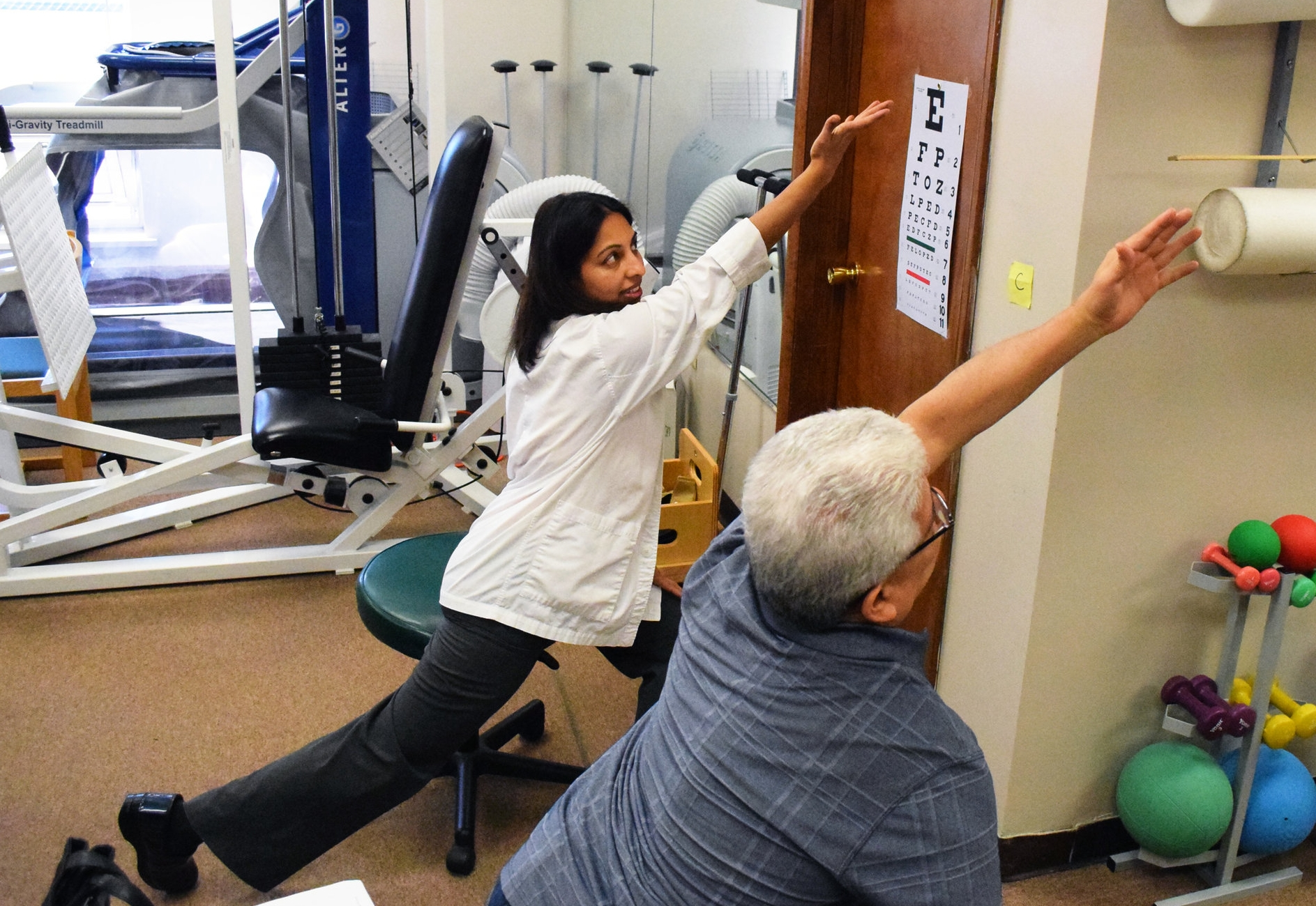 Lsvt Big Now In The Elizabeth Physical Therapy Clinic