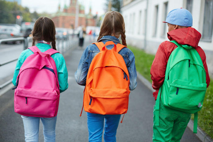 Don't let back pain happen to your child because of a bad backpack!