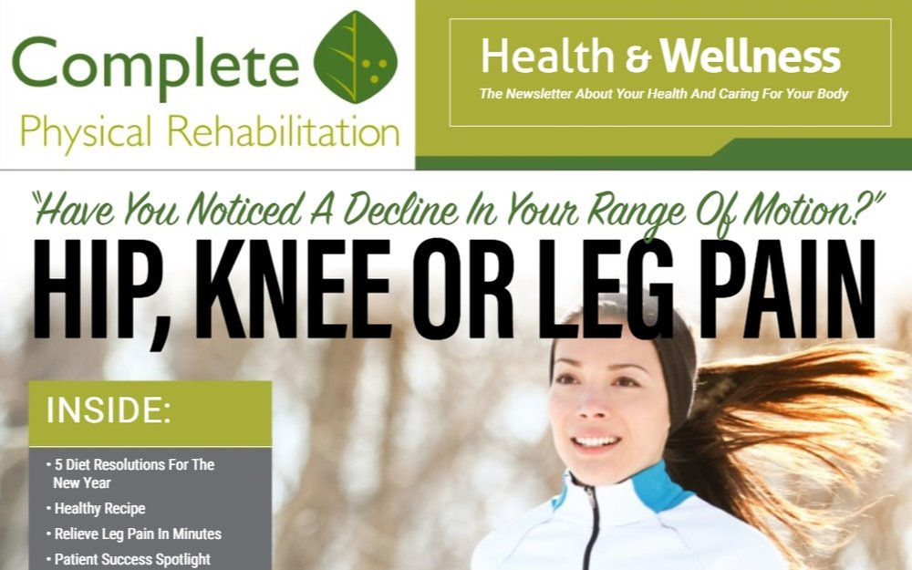 elizabeth+nj+jersey+city+physical+therapy+complete+physical+rehabilitation+newsletter+january+2018 Knee Pain And Physical Therapy