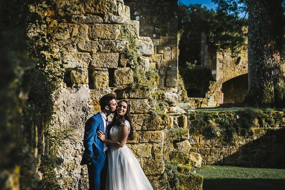 jewish wedding slaugham place ruins