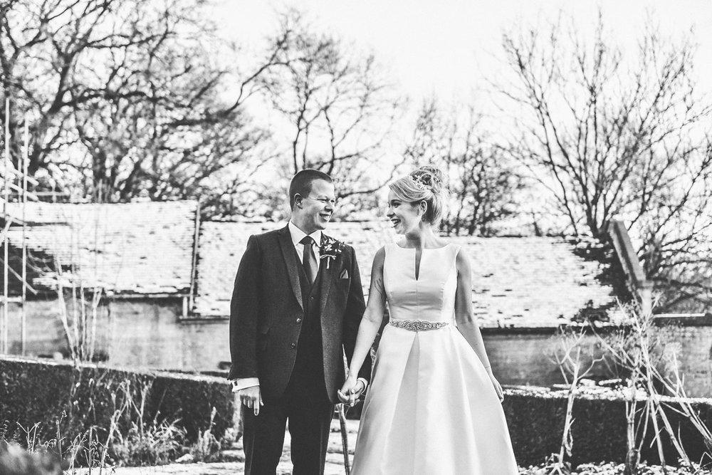 BETH & CHARLES - WONDERFUL WINTER WEDDING AT NUTHURST GRANGE