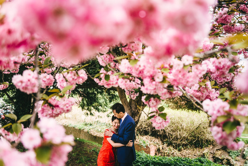 ASIAN ENGAGEMENT SHOOT