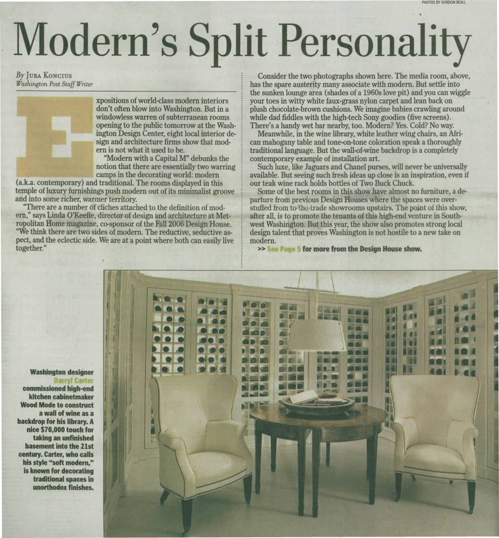 Washington Post Modern's Split Personality 9-28-06.JPG