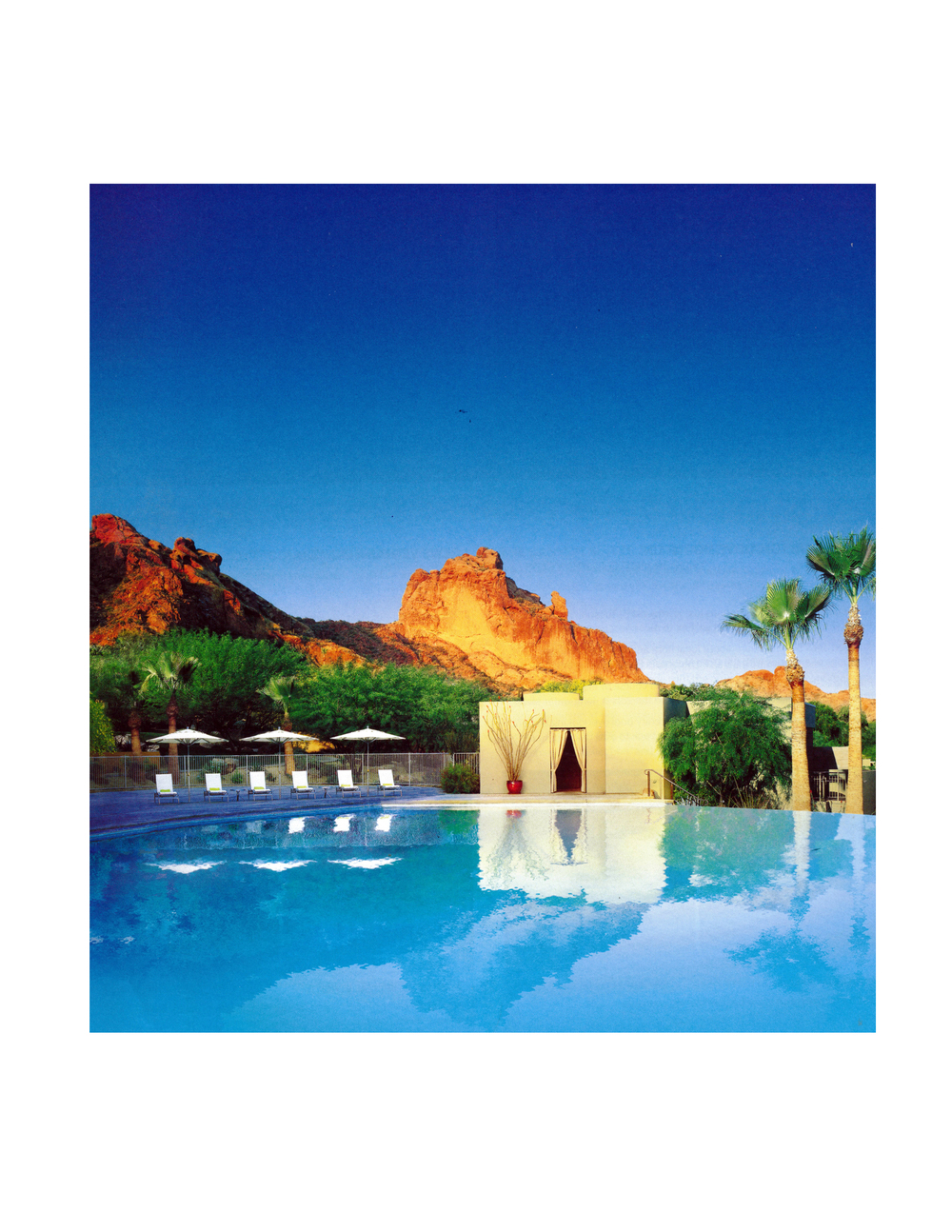 Sanctuary Camelback Mountain Resort & Spa  Scottsdale, Arizona  Image: American Express Fine Hotels & Resorts Travel Guide, 2014
